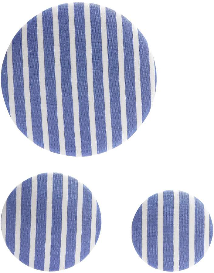 Balenciaga  BALENCIAGA Set of 3 striped earrings