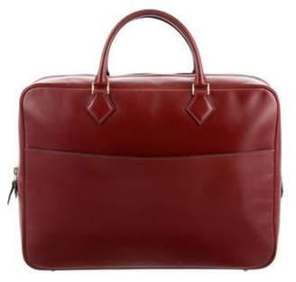 Hermà ̈s Chamonix Plume Briefcase Rouge Hermà ̈s Chamonix Plume Briefcase
