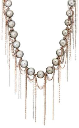Samira 13 Women's Fringed Tahitian Pearl Necklace
