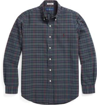 Ralph Lauren Slim Fit Cotton Madras Shirt