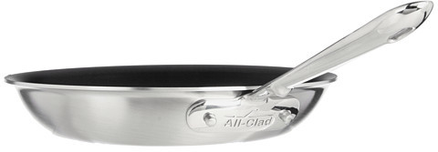 """All-Clad d5 Brushed 10"""" Nonstick Fry Pan"""