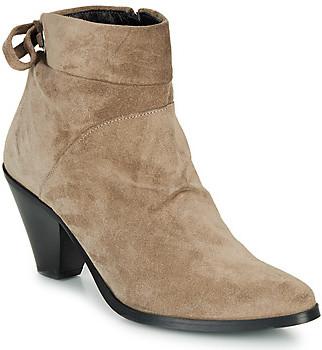 Regard RAKAF V3 CRTE VEL SILKY women's Low Ankle Boots in Beige
