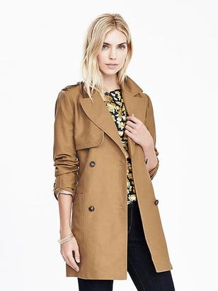 Canvas Trench $178 thestylecure.com
