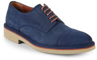 Canali Men's Suede Derby Shoes