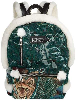 Kenzo Lion Print Backpack