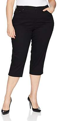 Just My Size Women's Apparel Women's Plus Size Stretch 5 Pocket Capri