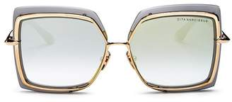 Dita Women's Narcissus Oversized Square Sunglasses, 58mm