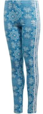 adidas Big Girls Printed Leggings