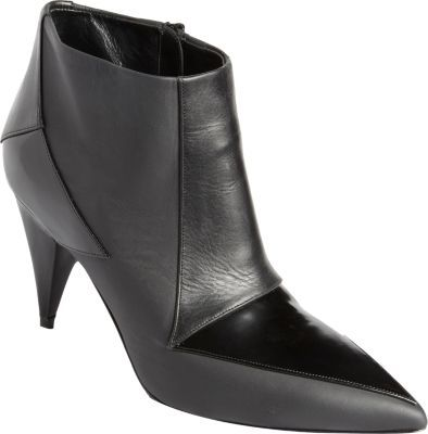 Pierre Hardy Geometric Overlay Ankle Boot
