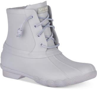 Sperry Women Saltwater Flood Duck Booties Women Shoes