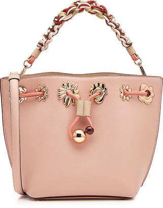 Sophia Webster Romy Mini Flower Leather Bucket Bag