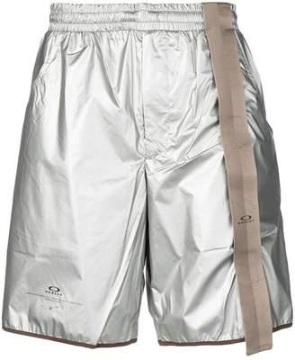 Oakley By Samuel Ross metallic shorts