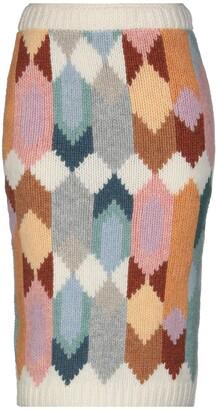 Prada Knee length skirts - Item 35395063RD