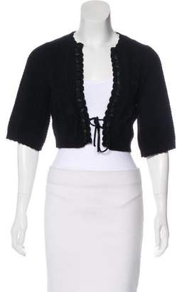 Chloé Wool Cropped Cardigan w/ Tags