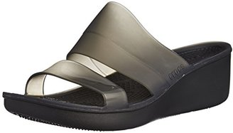 crocs Women's ColorBlock Wedge $27.95 thestylecure.com
