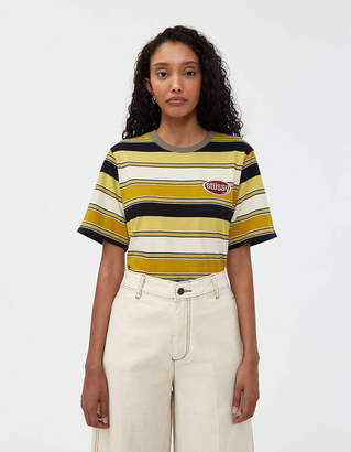 Stussy Carl Stripe Short Sleeve Tee