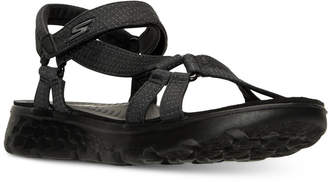 Skechers Women's On The Go - Radiance Sandals from Finish Line $39.99 thestylecure.com