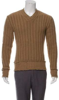 Dolce & Gabbana Virgin Wool V-Neck Sweater