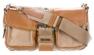 Prada Tessuto and Leather Flap Bag