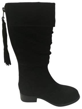 Wonder Nation Girls' Knee High Boot