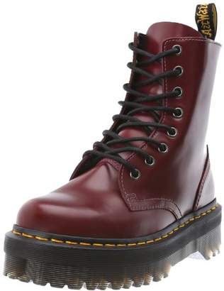 Dr. Martens Unisex Adults' Jadon Black Polished Smooth Boots