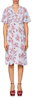 By Ti Mo byTiMo Women's Floral Crepe A-Line Dress