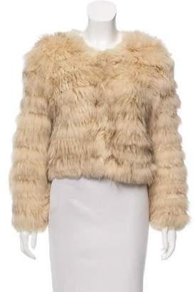 Alice + Olivia Fur Short Jacket