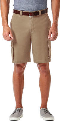 Haggar Mens Stretch Cargo Shorts