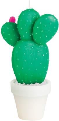 Sunnylife Green Large Round Cactus Candle