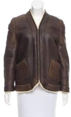 Leroy Veronique Reversible Shearling Jacket