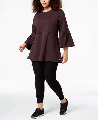 Calvin Klein Plus Size Bell-Sleeve Tunic