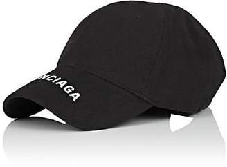 f9cb3ed5c78 Balenciaga Men s Logo-Embroidered Cotton Cap - Black