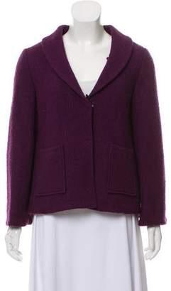 Alice + Olivia Textured Shawl Collar Jacket