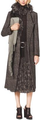 Michael Kors Silk-Chiffon Skirt