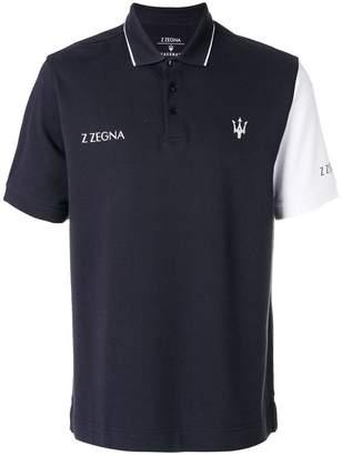 Ermenegildo Zegna short sleeved logo T-shirt
