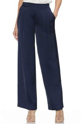 Vince Camuto Wide Leg Front Pleat Pants