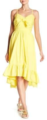 Joie Clorinda Ruffle Tie Front Dress