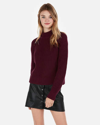 Express Mock Neck Pullover Sweater