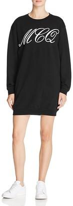 McQ Alexander McQueen Classic Sweat Dress $295 thestylecure.com