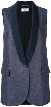 Peserico tailored fit vest