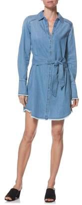 Paige Clemence Chambray Shirtdress