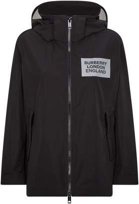 Burberry Logo Waterproof Jacket