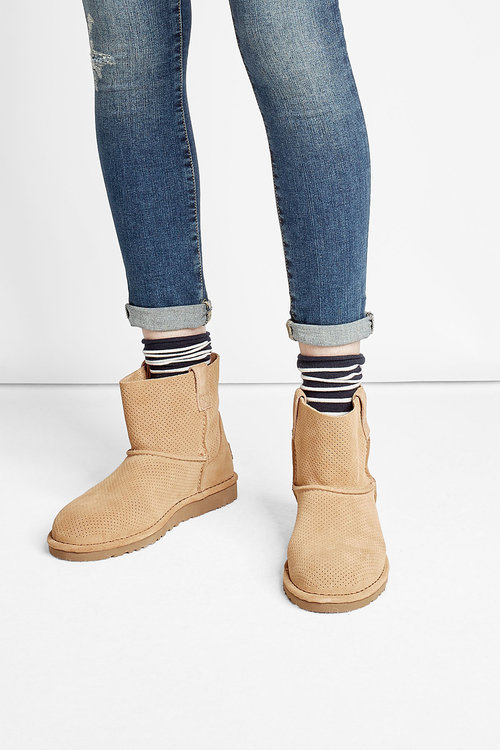 UGGUGG Australia Classic Unlined Mini Suede Ankle Boots