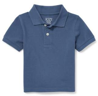 Children's Place The Short Sleeve Baby Boy & Toddler Boy Solid Polo Shirt