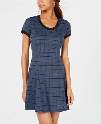 Be Bop Juniors' Cutout Fit & Flare Dress