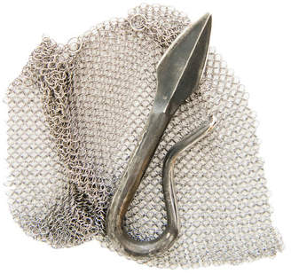Sea Island Forge Oyster Knife & Chainmail Shuck Guard