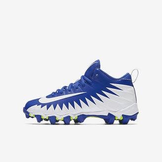Nike Alpha Menace Shark Little/Big Kids' Football Cleat $40 thestylecure.com