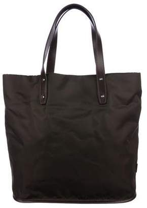 Dolce & Gabbana Leather-Trimmed Woven Tote w/ Tags