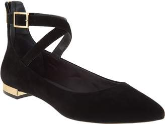 Rockport Total Motion Suede Pointed Toe Flats