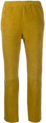 Drome elasticated waist straight trousers
